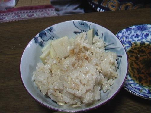 Takenoko rice たけのこごはん