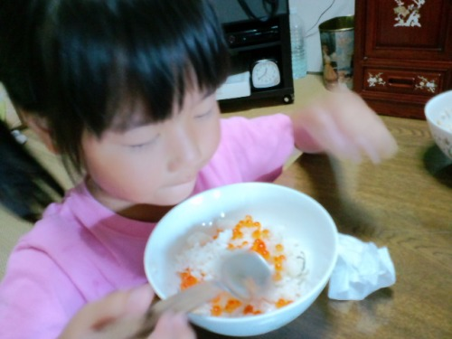 Ikura rice/salmon roe